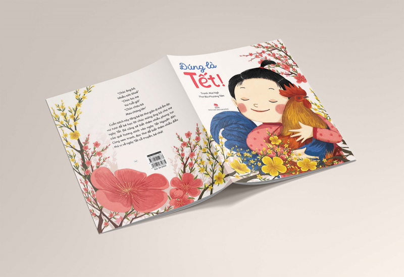 Sách Đúng là Tết: Ký ức Tết cổ truyền trong con mắt trẻ thơ