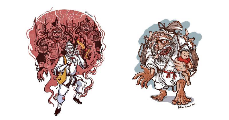 Cùng nghệ sĩ minh hoạ Dikon khám phá thế giới tâm linh qua 'Ma Quỷ Dân Gian Kí' (Phần 1)
