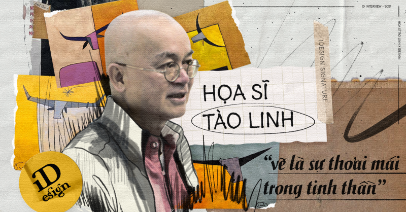 Năm con trâu, xem tranh trâu của họa sĩ Tào Linh và nghe chuyện 'Vẽ là sự thoải mái trong tinh thần'