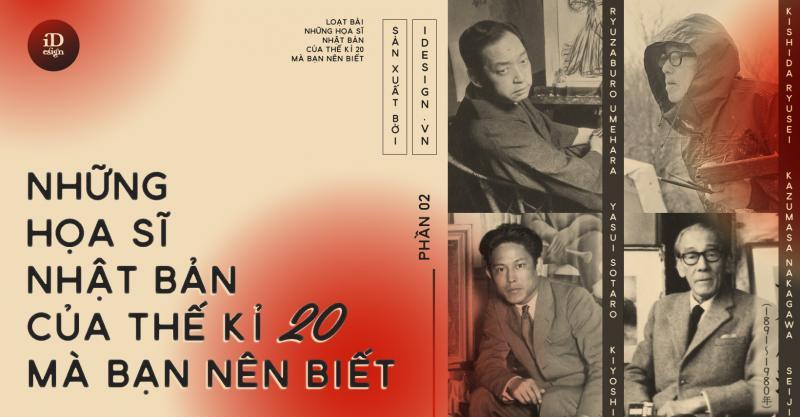 Những họa sĩ Nhật Bản của thế kỉ 20 mà bạn nên biết (Phần 2)