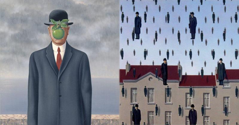 5 trong số những tác phẩm nổi tiếng nhất của René Magritte thu hút được tâm trí của người theo chủ nghĩa siêu thực
