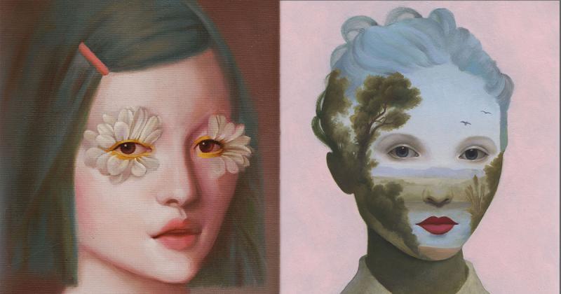 Aniela Sobieski - Phong cảnh và tĩnh vật độc đáo ẩn hiện trong những bức chân dung xa hoa