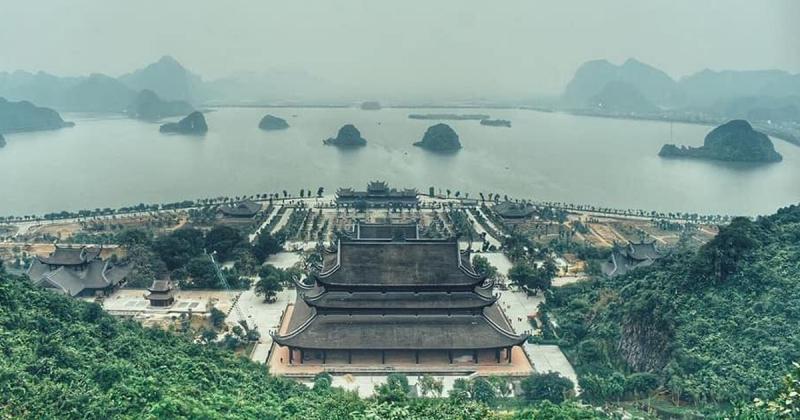 Cận cảnh Chùa Tam Chúc - Ngôi chùa lớn nhất thế giới của tỉnh Hà Nam