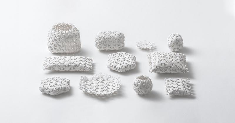 Kenji Abe giới thiệu loại bao bì có thể thoải mái biến đổi để phù hợp với các mục đích sử dụng
