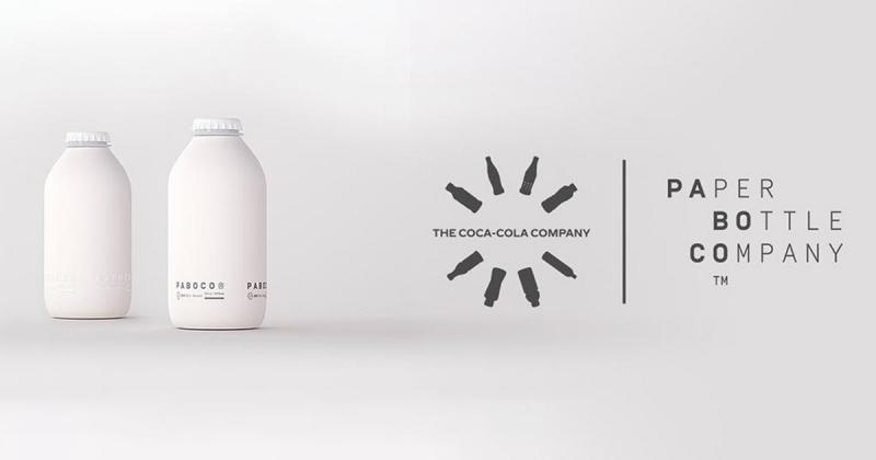 Coca-Cola giới thiệu mẫu chai giấy đầu tiên của mình