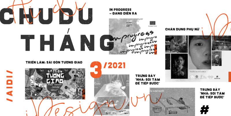 Chu du trong thế giới nghệ thuật tháng 3/2021
