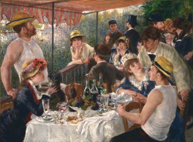 5 bức họa theo trường phái Ấn tượng nổi tiếng nhất của Renoir