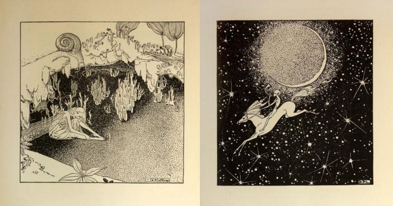 Những bản minh họa sách các vần thơ từ thế kỉ xa xưa của Dorothy Lathrop