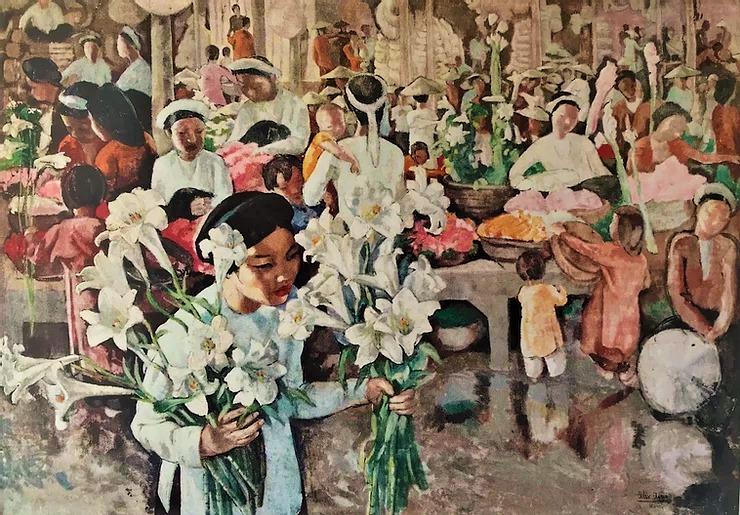 Họa sĩ Alix Aymé, tình yêu với phương Đông và sơn mài Việt Nam