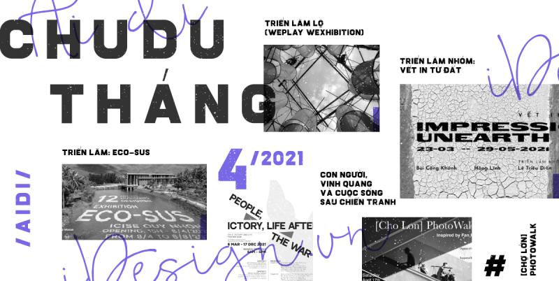 Chu du trong thế giới nghệ thuật tháng 4/2021