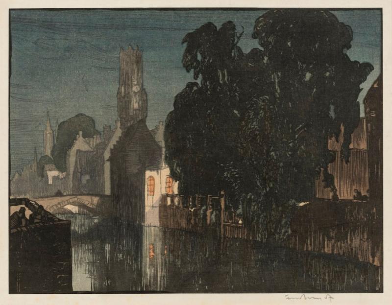 Khi Arts & Crafts của Anh gặp gỡ tranh in khắc gỗ ukiyo-e của Nhật Bản