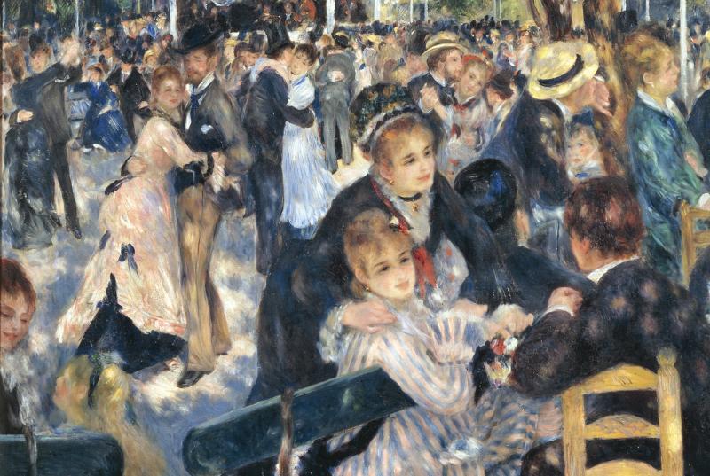 """/Tách Lớp/ Say đắm trong điệu Valse du dương của """"Dance at le Moulin de la Galette"""""""