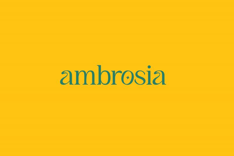 Một tinh thần Đông Dương năng động qua bộ nhận diện thương hiệu của Ambrosia Café Bistro