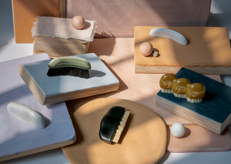 Bộ cọ vẽ sứ đẹp như một tác phẩm nghệ thuật đến từ Oornament Studio