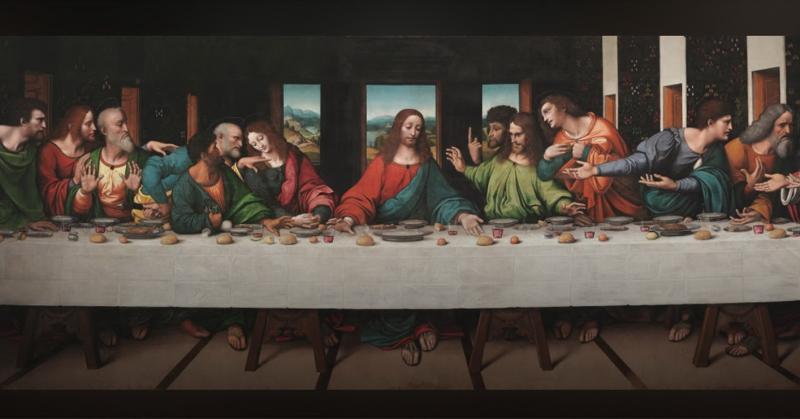 Những điều có thể bạn chưa biết về tác phẩm 'The Last Supper' của danh họa Leonardo da Vinci