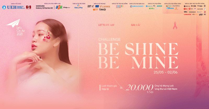 """30 Triệu Đồng Được Trao Đi Từ Thử Thách """"Be Shine, Be Mine"""" Của S Communications"""
