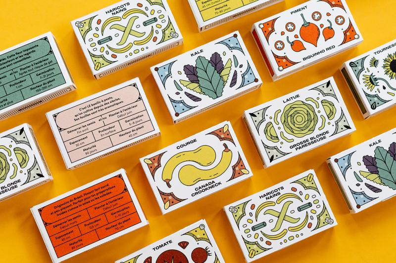 Bộ sản phẩm làm vườn mang hình vẽ tươi vui của Simon L'Archevêque