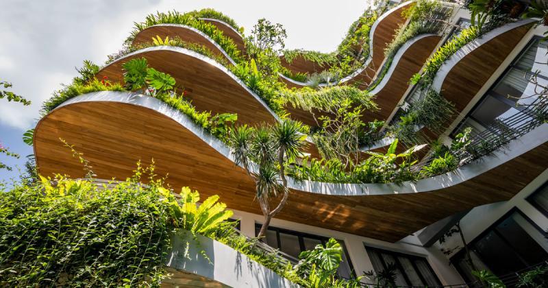 Căn hộ City Oasis/ KA Studio - Trải nghiệm công trình kết nối thiên nhiên và con người giữa Sài Gòn