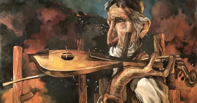 Tận thế trong tranh của Stamatis Laskos: Mỗi tác phẩm là một trang nhật ký của vô thức