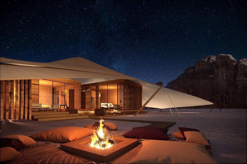 Khu nghỉ dưỡng sang trọng giữa sa mạc Ả Rập, bạn sẽ đến đây chứ?