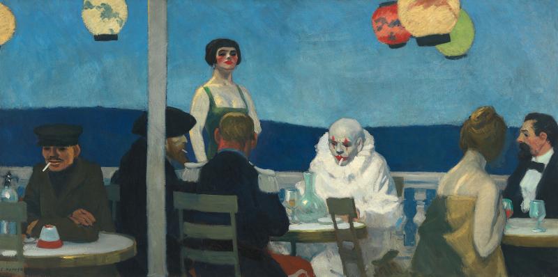 /Tách Lớp/ Soir Bleu - Kiệt tác từng bị lãng quên của Edward Hopper