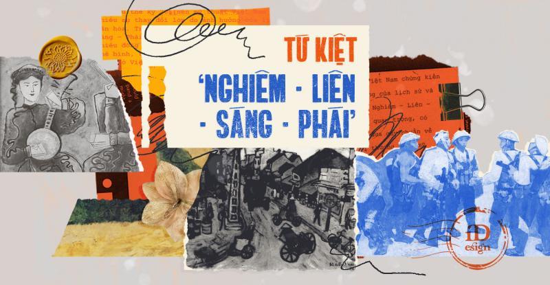 'Nghiêm - Liên - Sáng - Phái': Tứ kiệt tài hoa của nền mỹ thuật Việt Nam hiện đại