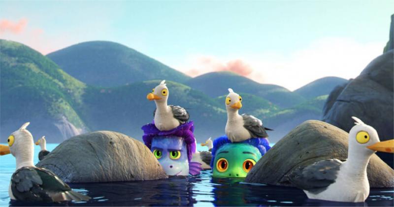 Phía sau những khung hình nên thơ như tranh vẽ của phim hoạt hình Luca (Pixar)