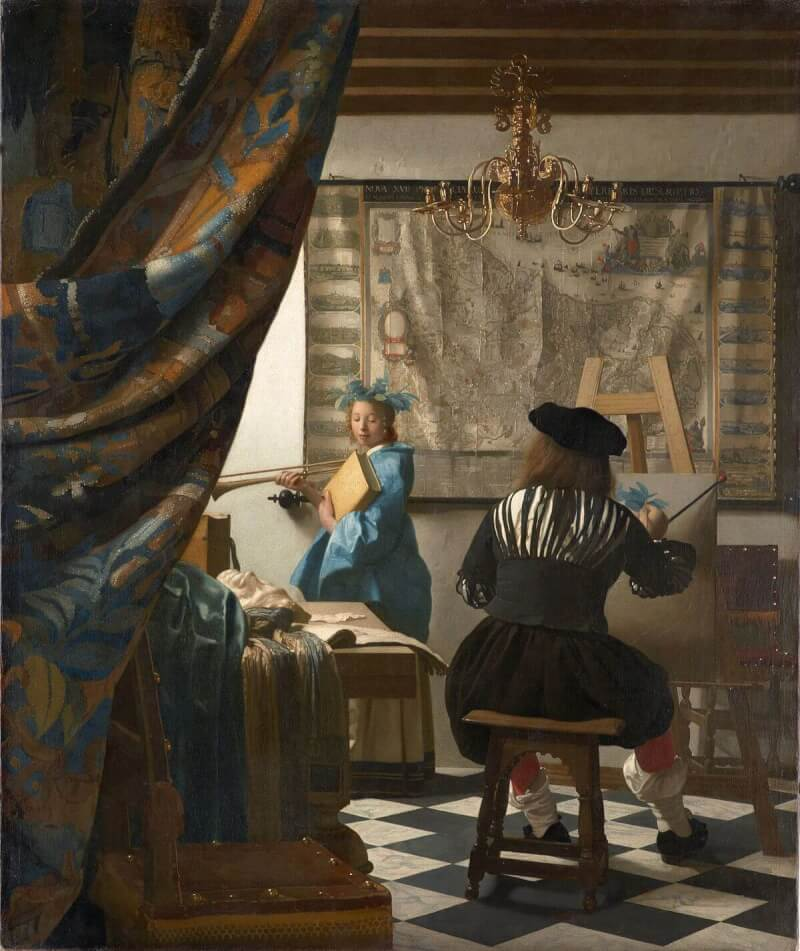 /Tách Lớp/ Đi tìm vẻ đẹp hội họa trong 'The Art of Painting' của Vermeer