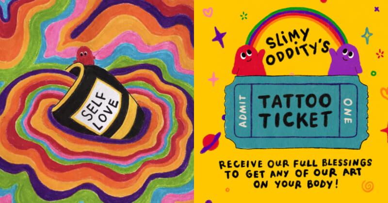Slimy Oddity - Sự sáng tạo và những rung cảm tích cực