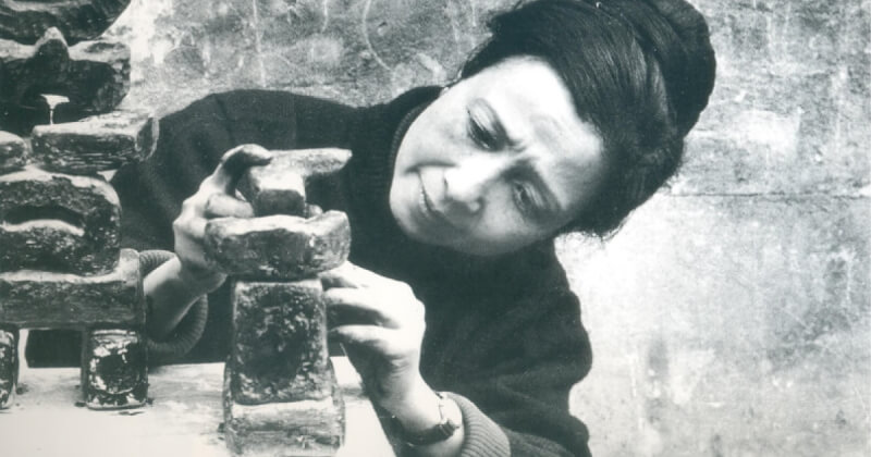'Khi sáng tác, tôi đã hạnh phúc, đã đau khổ' - Điêu khắc gia Điềm Phùng Thị