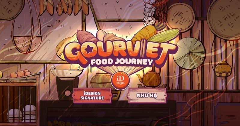 Khám phá tựa game mobile GOURVIET của Như Hạ: Ẩm thực Việt đâu chỉ là tô phở hay ổ bánh mì