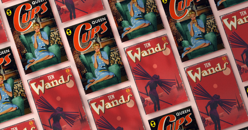 The Pulp Tarot: Bộ bài Tarot lấy cảm hứng từ hình minh họa Pulp Midcentury