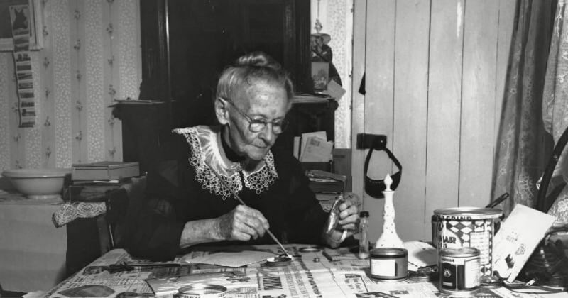 Grandma Moses - Tuổi tác không ngăn chặn sự thành công trong hội họa của bà