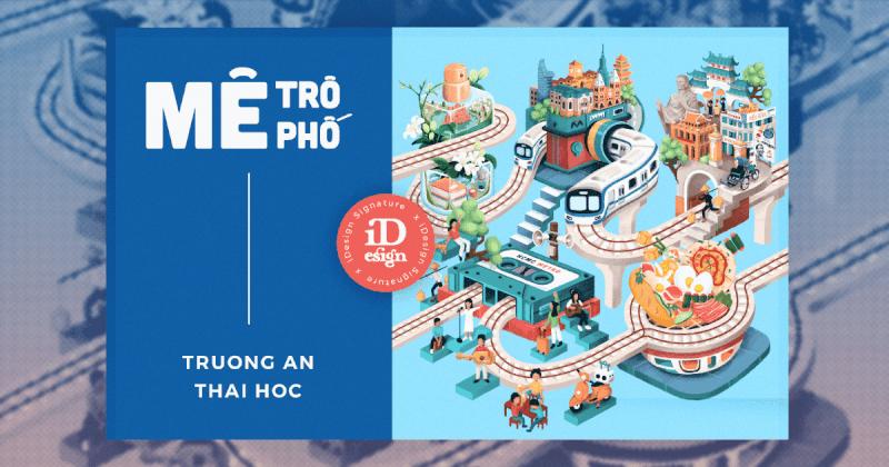 Cùng Trường An, Thái Học một vòng khám phá Mê Trô Mê Phố: Bộ motion poster truyền thông cho HCMC METRO