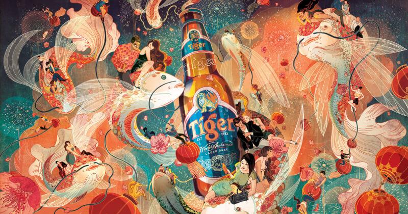 Quan điểm và cách sử dụng màu sắc trong minh họa của Victo Ngai