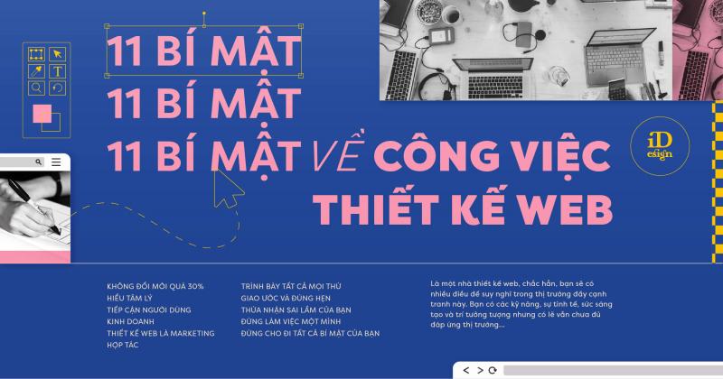 11 Bí mật về công việc thiết kế web sẽ không ai nói với bạn