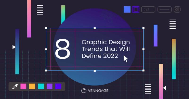 8 xu hướng thiết kế đồ họa lên ngôi năm 2022 (Phần 1)